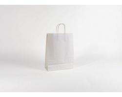 Papírová taška BIANCO - 26 x 34,5 x 11 cm