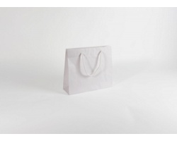 Papírová taška BIANCO LUX - 32 x 27,5 x 10 cm