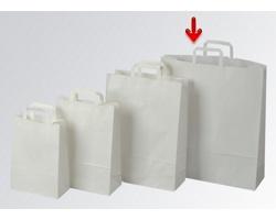 Papírová taška CLASSIC WHITE (BS) - 44 x 50 x 14 cm