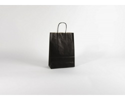 Papírová taška ECO NERO - 23 x 32 x 10 cm