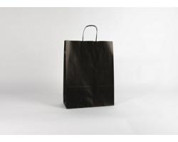 Papírová taška ECO NERO - 32 x 42,5 x 13 cm