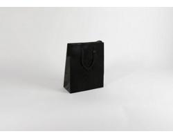 Papírová taška M2 BLACK - 25 x 31 x 11 cm