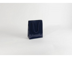 Papírová taška M2 BLUE - 22 x 27,5 x 10 cm