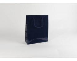 Papírová taška M2 BLUE - 32 x 40 x 13 cm