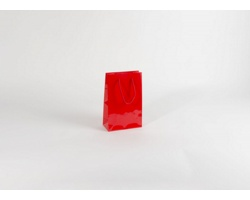 Papírová taška M2 RED - 16 x 24 x 8 cm