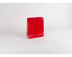 Papírová taška M2 RED - 25 x 31 x 11 cm