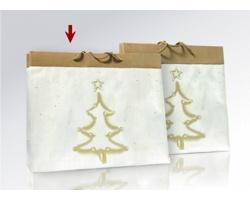 Vánoční papírová taška na víno MAGIA - 20 x 26 x 12 cm