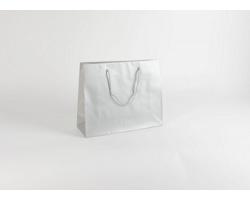 Papírová taška SILVER - 38 x 31 x 13 cm