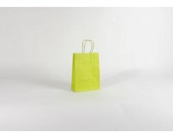 Papírová taška SPEKTRUM GREEN - 18 x 25 x 8 cm