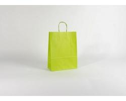 Papírová taška SPEKTRUM GREEN - 26 x 34,5 x 11 cm