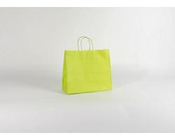 Papírová taška SPEKTRUM GREEN - 32 x 28 x 13 cm