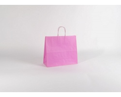 Papírová taška SPEKTRUM PINK - 32 x 28 x 13 cm