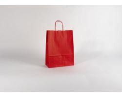 Papírová taška SPEKTRUM RED - 26 x 34,5 x 11 cm