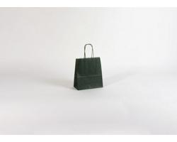 Papírová taška TETRO GREEN - 18 x 20 x 8 cm