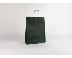 Papírová taška TETRO GREEN - 32 x 42,5 x 13 cm