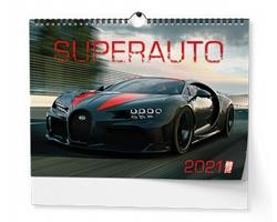 Nástěnný kalendář Superauto 2018