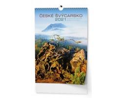 Nástěnný kalendář České Švýcarsko 2018