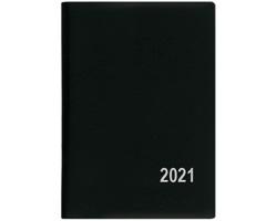 Měsíční diář Anežka PVC 2018, 7x10 - černá