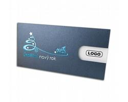 Vysouvací novoročenka GL724 - šedá / stříbrná / modrá