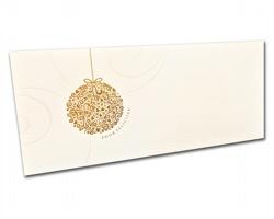 Novoroční PF karta PF806 - zlatá