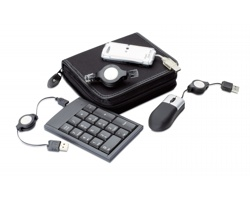 Počítačová USB souprava DORIAN se 4 doplňky - černá