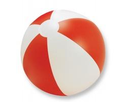 Nafukovací plážový míč ALDO - červená