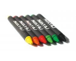 Sada voskových pastelek COLFAX, 6ks - vícebarevná
