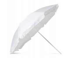 Plážový slunečník ALLEN - bílá