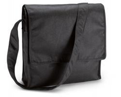 Ekologická taška POACH na dokumenty - černá