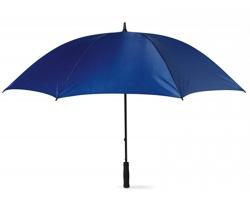 Větruodolný deštník BRET s pěnovou rukojetí, 8 panelů - modrá
