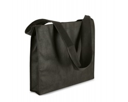 Netkaná nákupní taška LIEF - černá