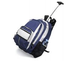 Polyesterový batoh na kolečkách RAINALD - modrá