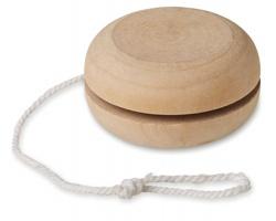 Dřevěné jojo LOCKHART - hnědá (dřevo)
