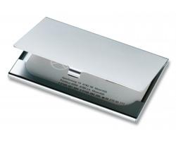 Pouzdro na vizitky CARD - matně stříbrná