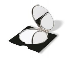 Make-up zrcátko BEAUTY - matně stříbrná