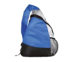 Batoh TRIANGLE ve tvaru trojuhelníku - modrá