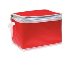 Chladící taška HUNTS na 6 plechovek - červená