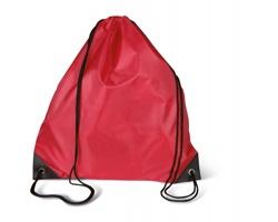 Polyesterový batoh FLETA na záda - červená