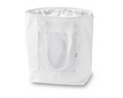 Skládací chladící taška SNOW - bílá