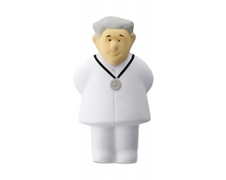 Antistresová figurka DEXTER s motivem doktora - bílá