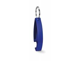 Kovový otvírák ALTAR s kroužkem na klíče - modrá