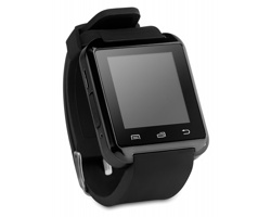 Chytré hodinky NERD - černá