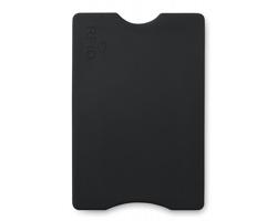 Plastový obal na platební kartu JURY s RFID ochrannou - černá
