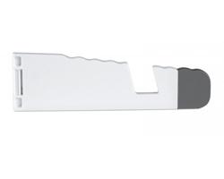 Plastový stojánek  MAMBA na tablet a telefon - bílá
