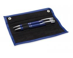 Set pera a tužky DIRGE v pouzdře - modrá
