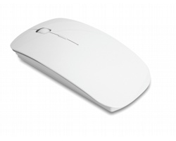 Bezdrátová optická myš EDDA - bílá