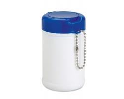 Antibakteriální vlhčené ubrousky OLIN v pouzdru, 30ks - modrá