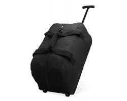 Cestovní taška SOOTHES na kolečkách - černá