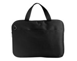 Polyesterová taška na dokumenty JUNO - černá