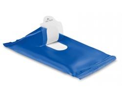 Vlhčené ubrousky WIPES, 10 ks - modrá